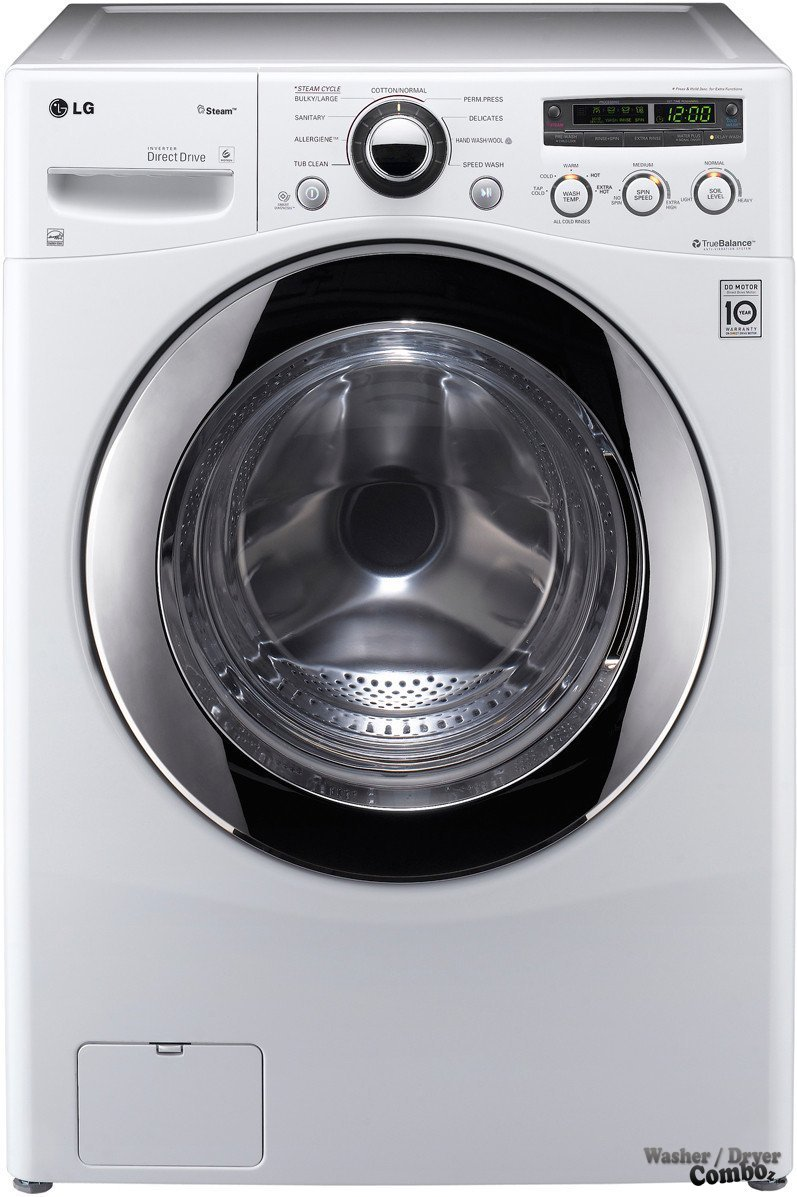 Lg Wm2650hra White Front Steam Washer 4 42 Cu Ft