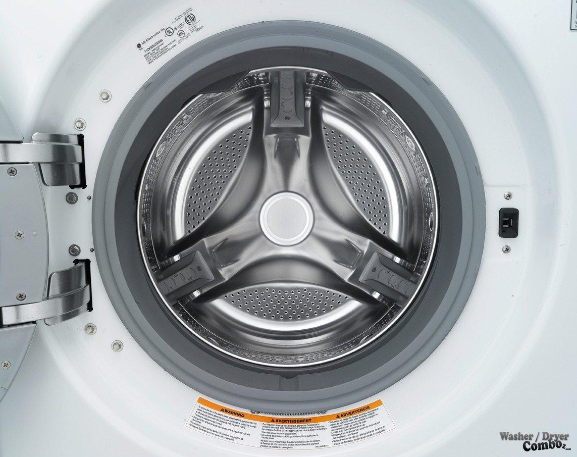 Lg Wm2650hra White Front Steam Washer 4 42 Cu Ft