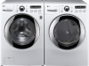 LG White Front Steam Washer 3.6 Cu. Ft. 5