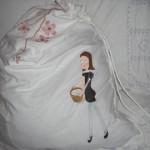 Laundry girl bag