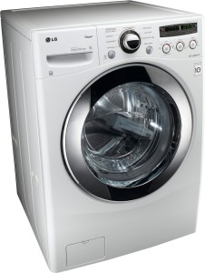 LG White Front Steam Washer 3.6 Cu. Ft.