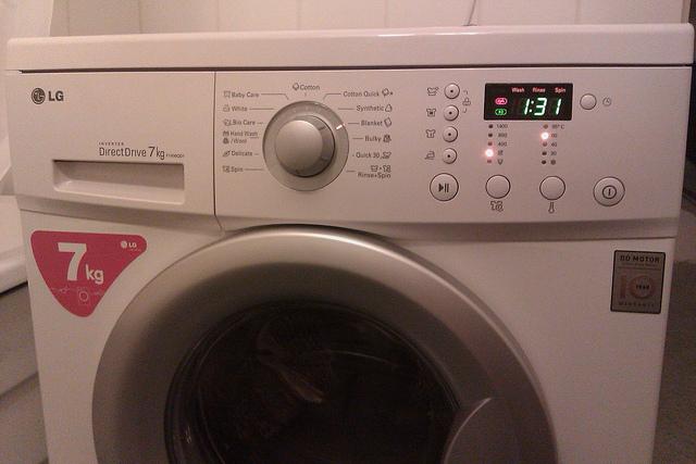 modern washer