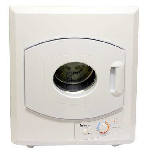 Smart+ Products SPP98D Compact Electric Laundry Dryer 2.65 Cu. Ft.