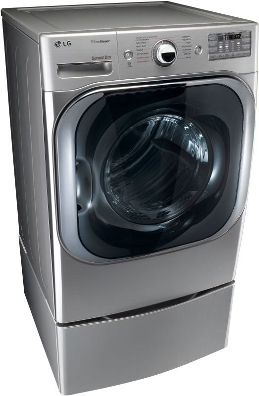 LG DLEX8000W SteamDryer 9.0 Cu. Ft.
